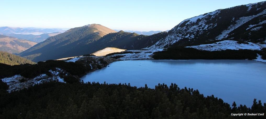 Lacul Lala - Masivul Ineu - Muntii Rodnei