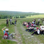Actiune de educare in Parcul National Calimani